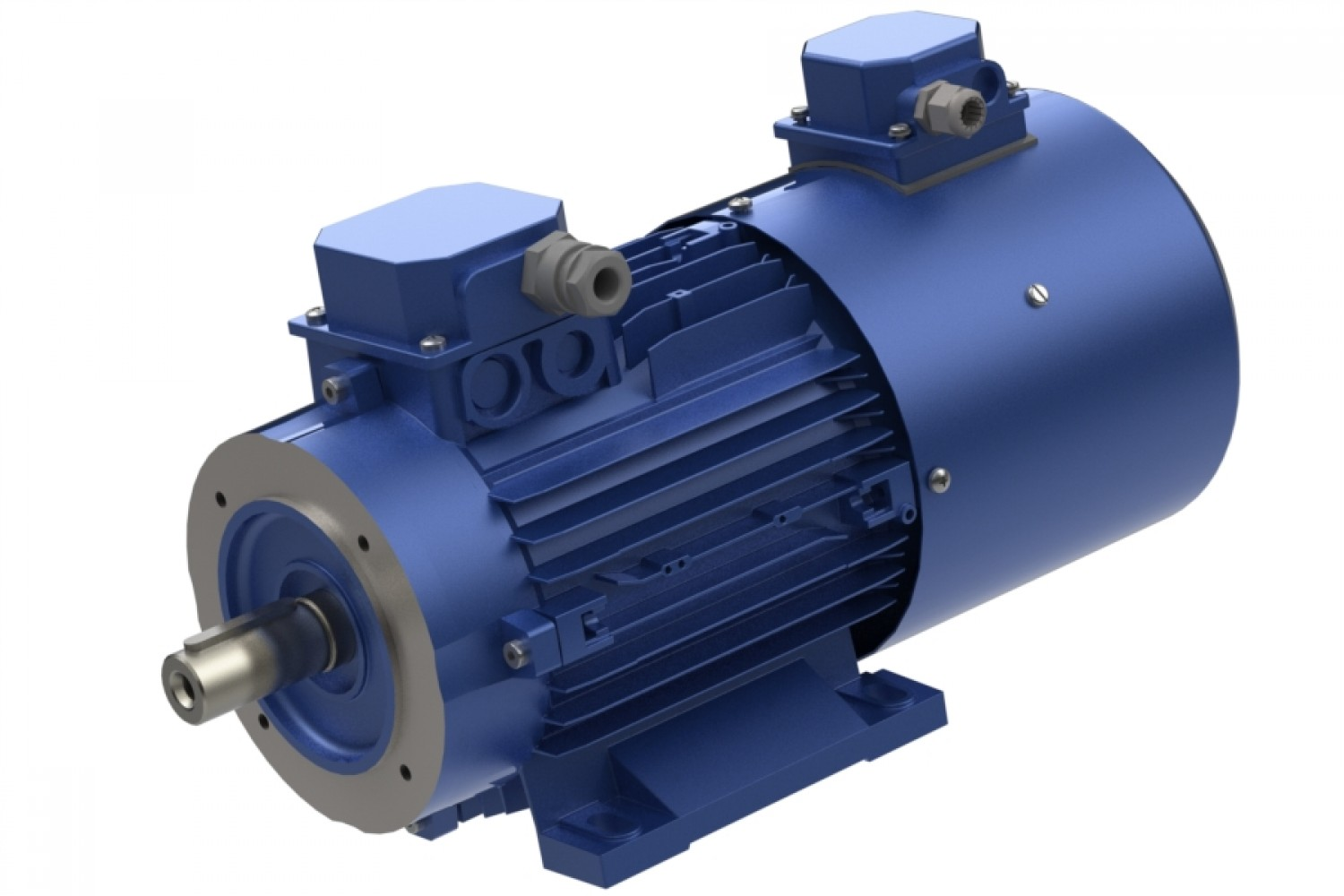 MOTORS WITH FORCED VENTILATION