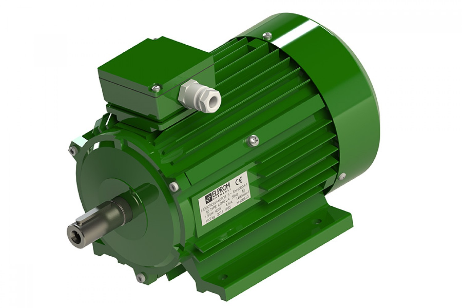 Two-speed three-phase motors