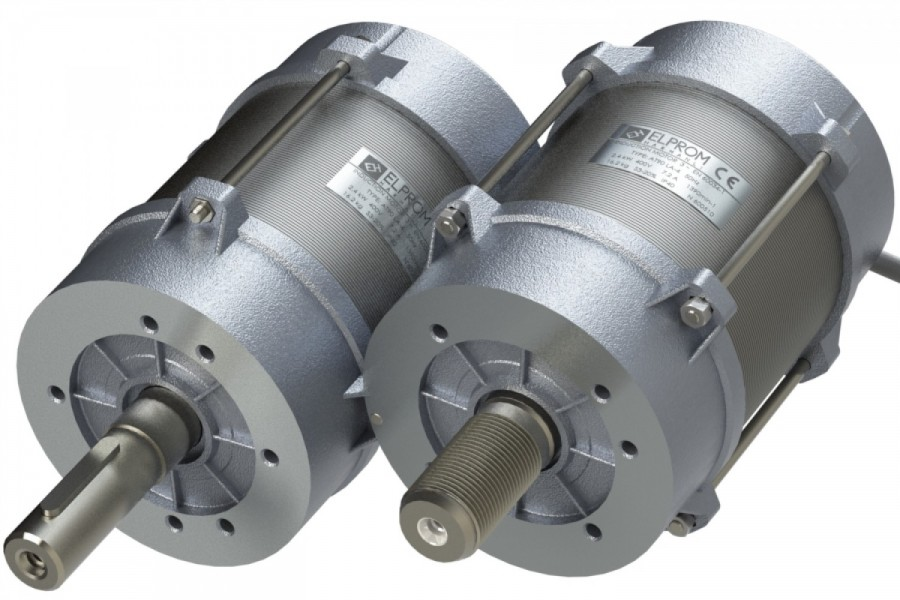 Motors without housing