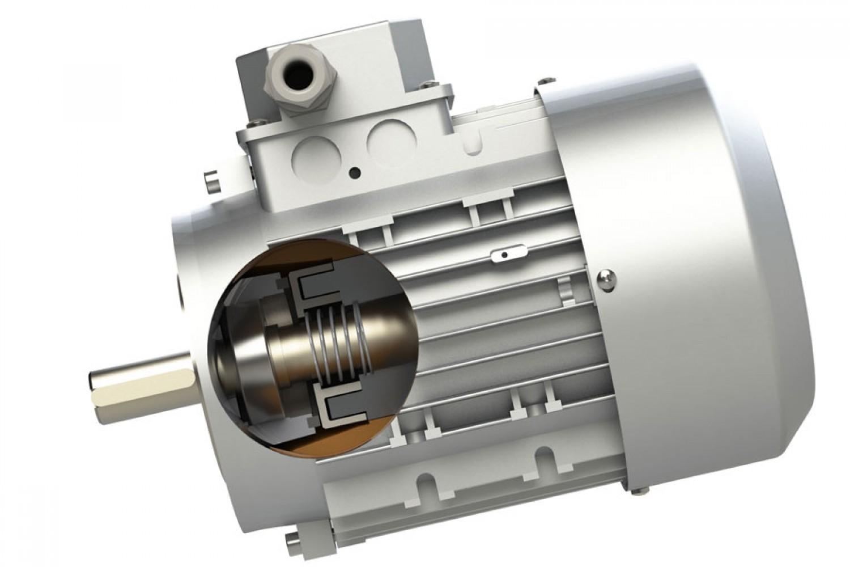 Двигатели с роторна спирачка